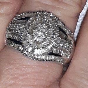 1 karat excellent diamond ring real diamonds